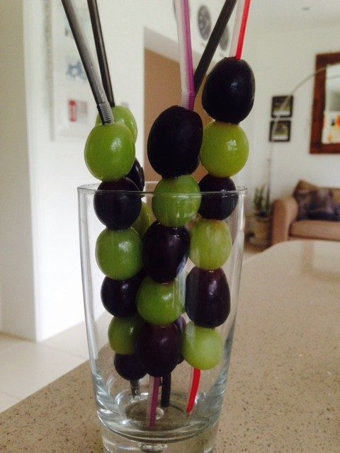 Grapesicles – Frozen Grape Pops