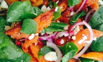 Sweet Potato & Carrot Salad