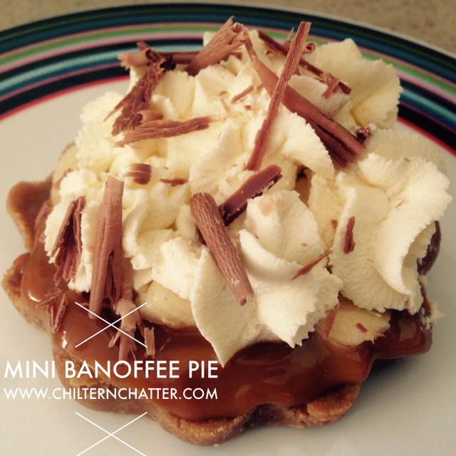 Mini Banoffee Pie