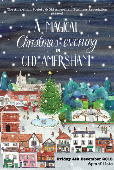 A MAGICAL CHRISTMAS EVENING IN OLD AMERSHAM