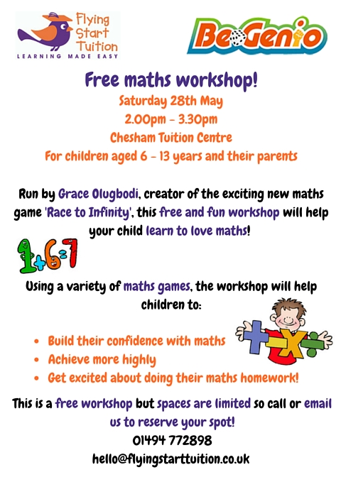 Maths Games Workshop Chiltern Ch