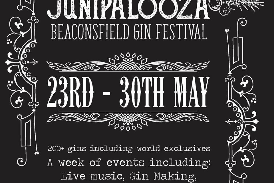 CALLING ALL GIN DRINKERS! BEACONSFIELD'S FIRST EVER GIN FESTIVAL
