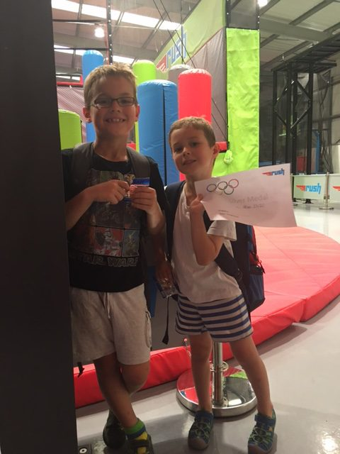 RUSH HOLIDAY CAMPS – REVIEW