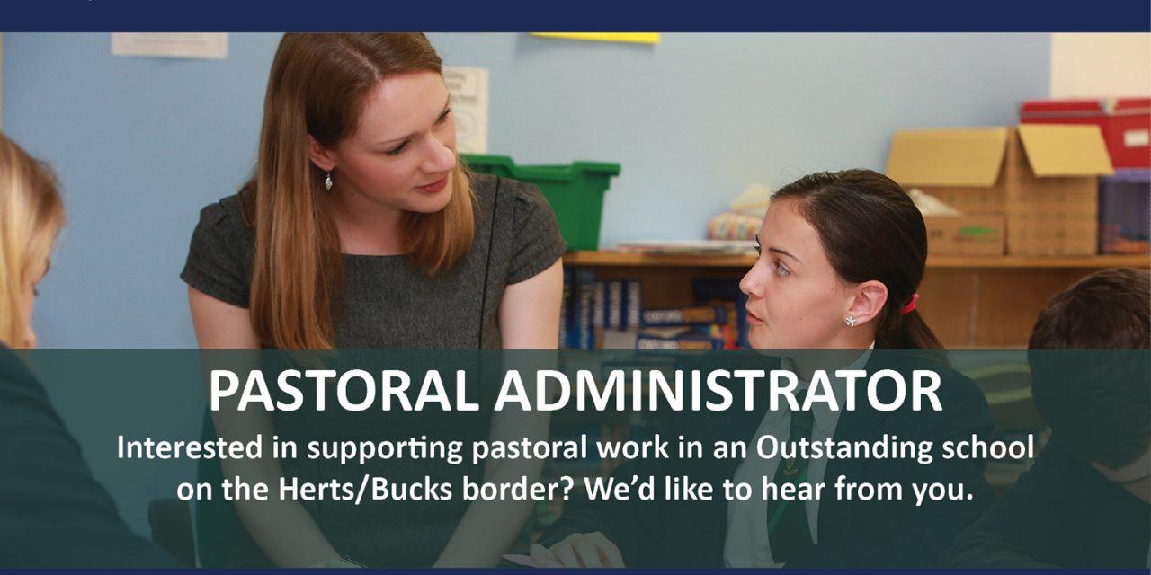 SCHOOL PASTORAL ADMINISTRATOR