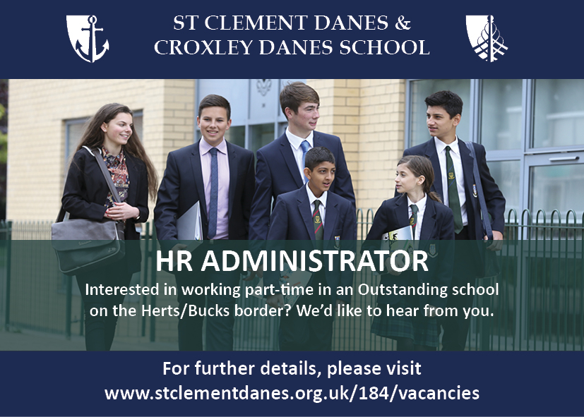 HR Administrator at St Clement Danes School