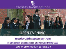 Croxley Danes School Open Evening