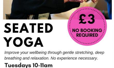 Gentle yoga class – Great Missenden