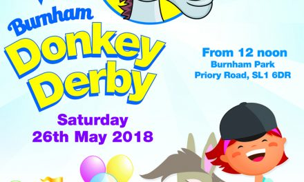 Burnham Donkey Derby & Spring Fair Saturday 26th May from 12 Noon – Burnham Park SL1 6DR