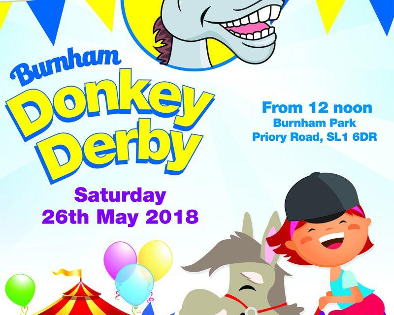Burnham Donkey Derby & Spring Fair Saturday 26th May from 12 Noon
