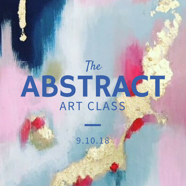 Abstract Art Class