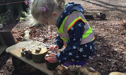 Squirrels Nursery awarded first forest school in Buckinghamshire
