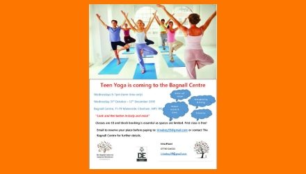 Teen Yoga is coming to the Bagnall Centre!