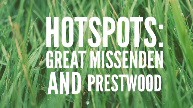 Our favourite local hotspots in Great Missenden & Prestwood….