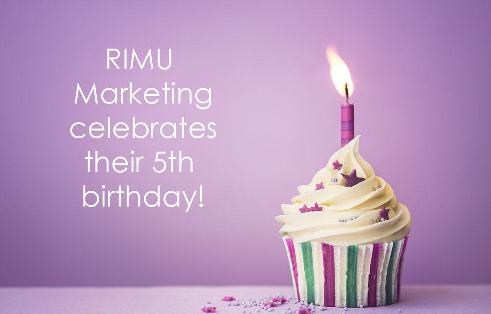 Join Rimu Marketing's 5th birthday!