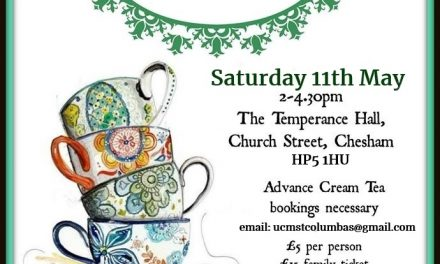Fundraising Cream Tea and Book Sale