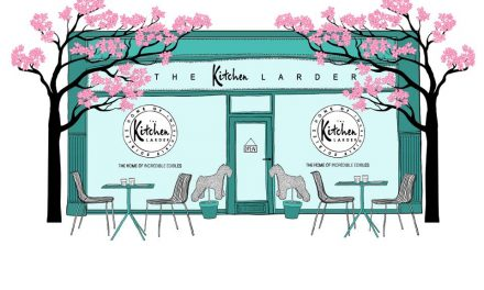 THE KITCHEN LARDER OPENS TOMORROW IN CHALFONT ST PETER
