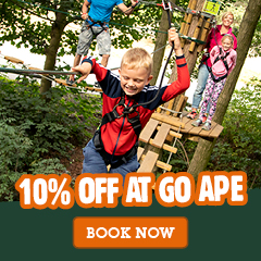 10% off Go Ape Black Park Large box Ad