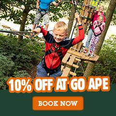 10% off Go Ape Black Park Large box Ad