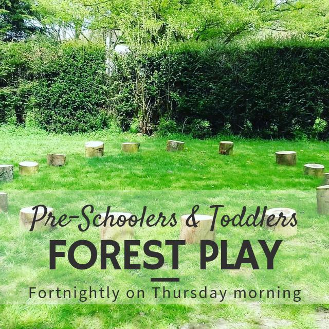 Toddler & Pre-Schooler Forest School