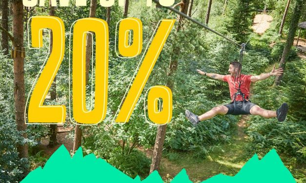Book Early & Save up to 20% at Go Ape
