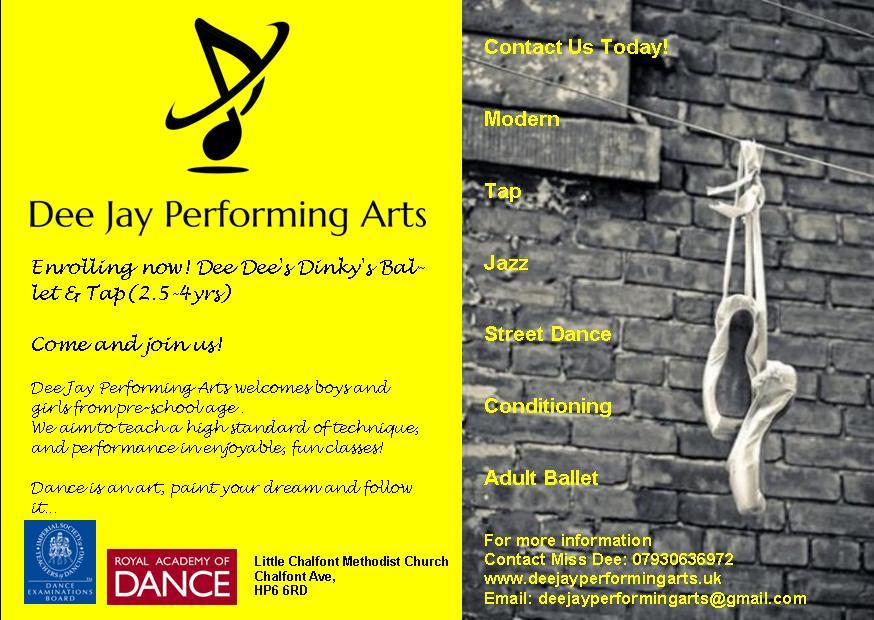 Dee Dee's Dinky Ballet & Tap Class (2.5-4yrs)