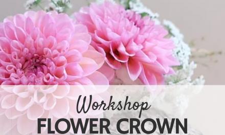 FAMILY FLOWER CROWN WORKSHOP