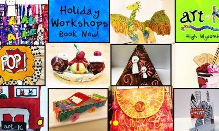 Summer Art Workshops art-K High Wycombe
