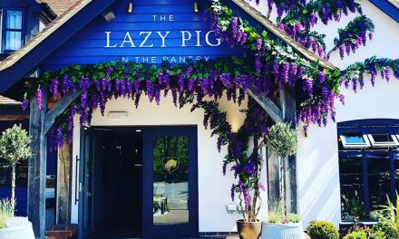 END OF SUMMER PARTY AT THE LAZY PIG IN THE PANTRY
