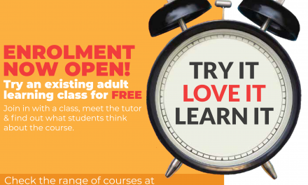 TRY AN ADULT LEARNING COURSE FOR FREE