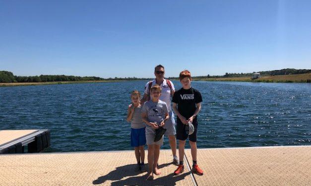 Scoot, cycle & walk at Dorney Lake