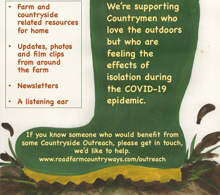 Countryways CIC Countrymen's Outreach Programme to support those isolated or affected by lockdown