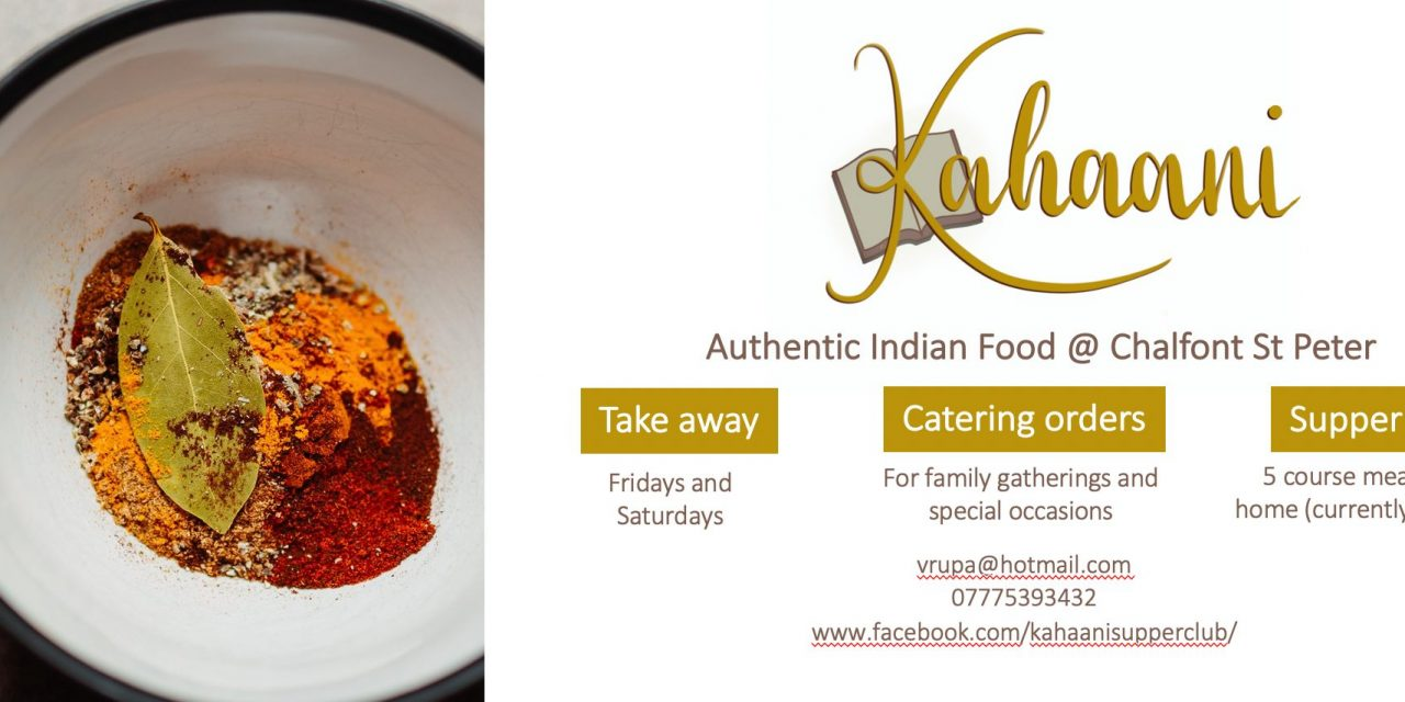 FAB FIND: KAHAANI, Indian Supper Club