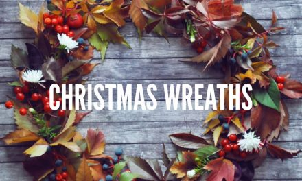 TIME TO GET YOUR WREATH UP
