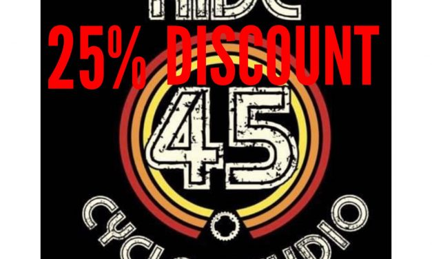 BLACK FRIDAY DISCOUNT: 25% OFF AT RIDE 45