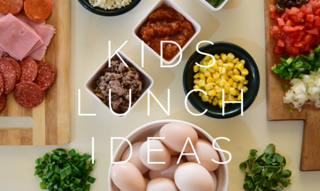 Kids packed lunch ideas & printable cheat sheet