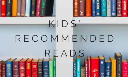 CHILDREN'S READING RECOMMENDATIONS APRIL 2021