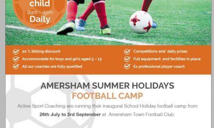 Football Summer Hols Club
